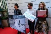 Monika Leová letos podpořila příběh Michala Forsta.