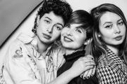 Markéta Fialová, Alma Zajícová, Emma Zajícová Fialová, foto: Petr Kozlík